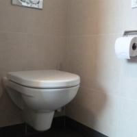 Badezimmer mit Toilette